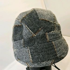 San Diego Hat Company Brown Tan  Houndstooth Cadet